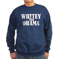 Whitey for Obama Sweatshirt