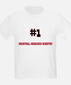 Number 1 INDUSTRIAL RESEARCH SCIENTIST T-Shirt