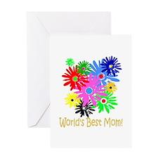 World's Best Mom Greeting Card