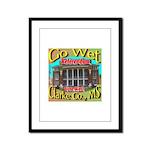 Go Wet Clarke Co. Framed Panel Print