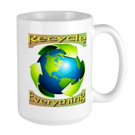 Recycle Everything Large Mug