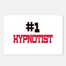 Number 1 HYPNOTIST Postcards (Package of 8)