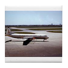 Historic Airplane Tile Coaster