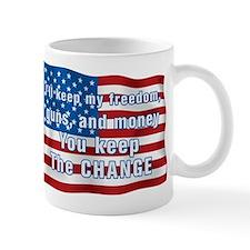 Keep The Change Small Mug