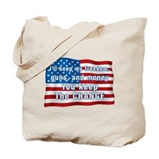 Keep The Change Tote Bag