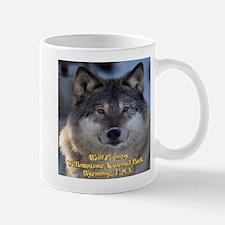 Wolf Country Yellowstone National Park Mug