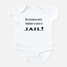 Dirty uniform Infant Bodysuit