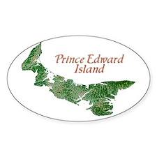 Prince Edward Island Oval Decal