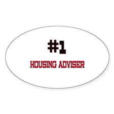 Number 1 HOUSING ADVISER Oval Decal