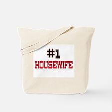 Number 1 HOUSEWIFE Tote Bag