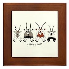 Oryx Framed Tile