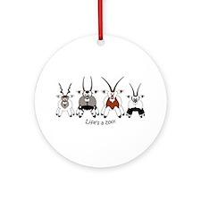 Oryx Ornament (Round)