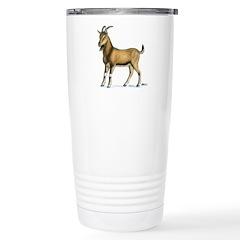 Brown Goat Stainless Steel Travel Mug