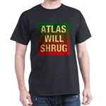 ATLAS WILL SHRUG Dark T-Shirt