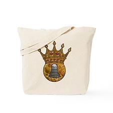 King Of Badminton Tote Bag