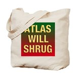 ATLAS WILL SHRUG / Who Is John Galt Tote Bag