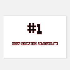 Number 1 HIGHER EDUCATION ADMINISTRATOR Postcards