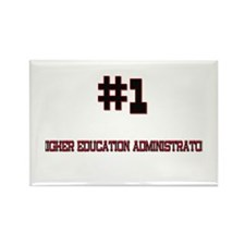 Number 1 HIGHER EDUCATION ADMINISTRATOR Rectangle