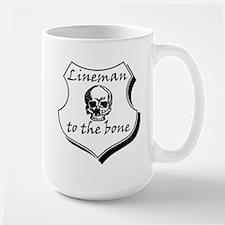 Lineman to the Bone Mug