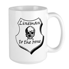 Lineman to the Bone Mug