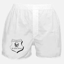 Lineman to the Bone Boxer Shorts