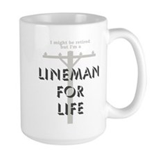 Retired Lineman Mug