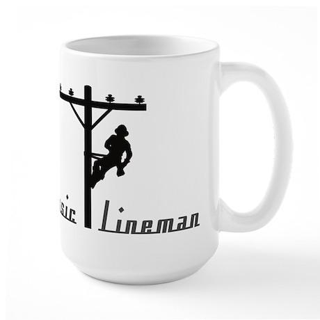Classic Lineman Large Mug