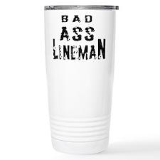 Bad ass lineman2 Travel Mug