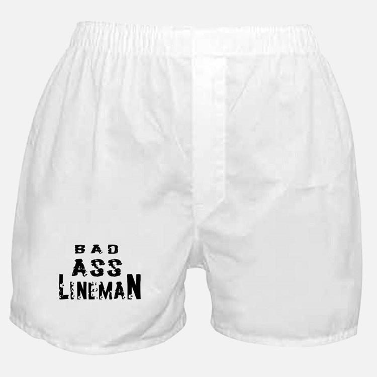 Bad ass lineman2 Boxer Shorts