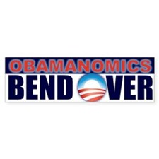 Obamanomics Bumper Bumper Sticker