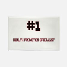 Number 1 HEALTH PROMOTION SPECIALIST Rectangle Mag