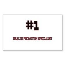 Number 1 HEALTH PROMOTION SPECIALIST Decal