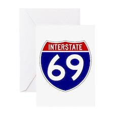 I-69 Greeting Card