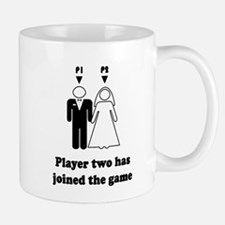 player2 black Mugs