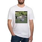 Drift Fishermen Rogue River Fitted T-Shirt