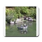 Drift Fishermen Rogue River Mousepad