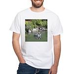 Drift Fishermen Rogue River White T-Shirt
