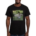 Drift Fishermen Rogue River Men's Fitted T-Shirt (