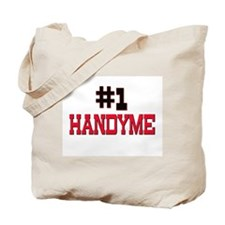 Number 1 HANDYME Tote Bag