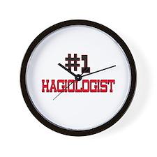 Number 1 HAGIOLOGIST Wall Clock