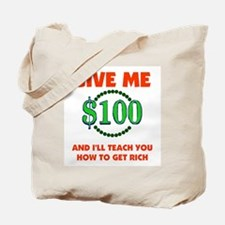 GET RICH QUICK Tote Bag