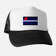 Leather Pride Flag Trucker Hat