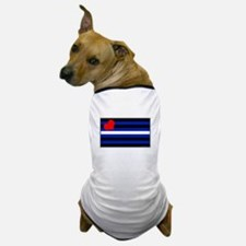 Leather Pride Flag Dog T-Shirt