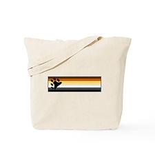 Bear Pride Flag Tote Bag