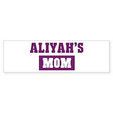 Aliyahs Mom Bumper Bumper Sticker