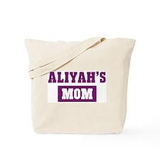 Aliyahs Mom Tote Bag