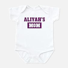 Aliyahs Mom Infant Bodysuit