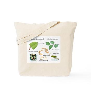 Japanese Knotweed Tote Bag