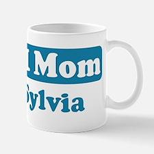 #1 Mom Sylvia Mug