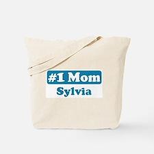 #1 Mom Sylvia Tote Bag